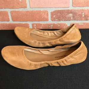 Lucky Brand leather shoes ballet flats size 9.5